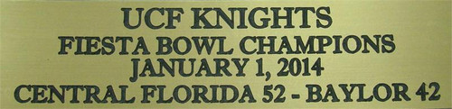 UCF Knights 2014 Fiesta Bowl Champions Football Display Case