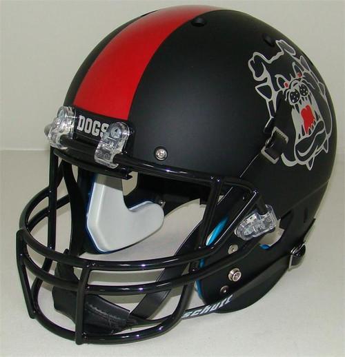 Fresno State Bulldogs Alternate Black Schutt Full Size Replica XP Football Helmet