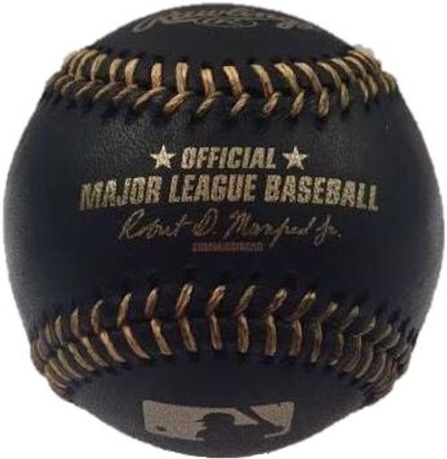MLB BLACK & GOLD Rawlings Official Baseballs (Dozen)