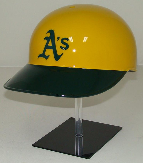 Oakland A's Rawlings YELLOW Throwback NEC Full Size Baseball Batting Helmet