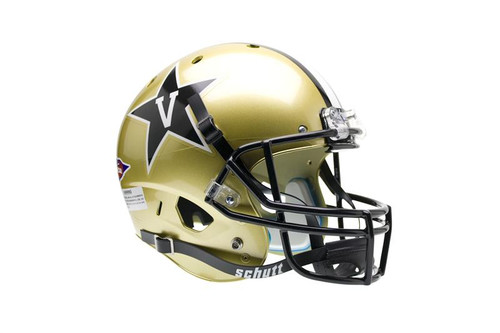 Vanderbilt Commodores Schutt Full Size Replica XP Football Helmet
