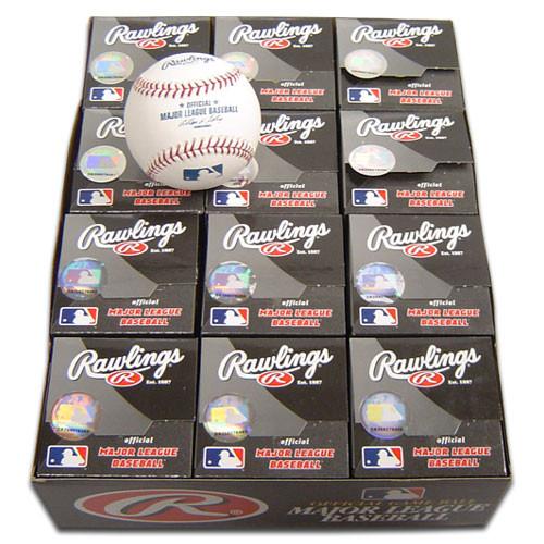 Dozen Rawlings Official MLB Baseballs