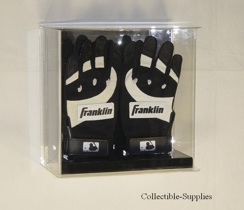 Double Baseball Batting Glove Wall Mountable Display