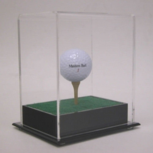 Deluxe Golf Ball Display with Tee