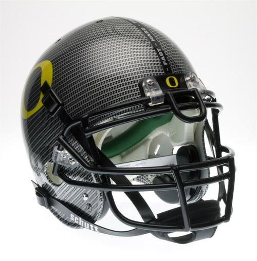 Oregon Ducks Schutt SPECIAL CARBON FIBER Full Size Authentic Helmet