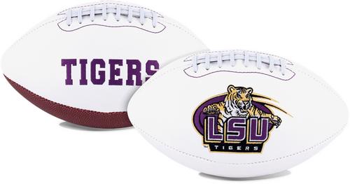 Signature Series NCAA LSU Tigers Autograph Full Size Football