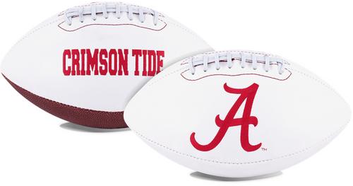 Signature Series NCAA Alabama Crimson Tide Autograph Full Size Football