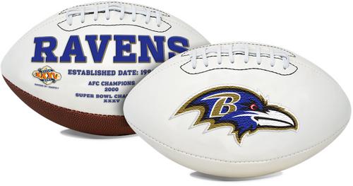 Signature Series NFL Baltimore Ravens Autograph Full Size Football