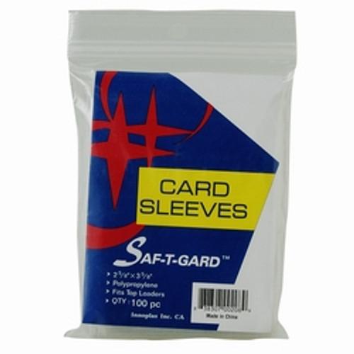 1 full case Soft Card Sleeves 10,000 SOFT SLEEVES (100 PACKS) STG