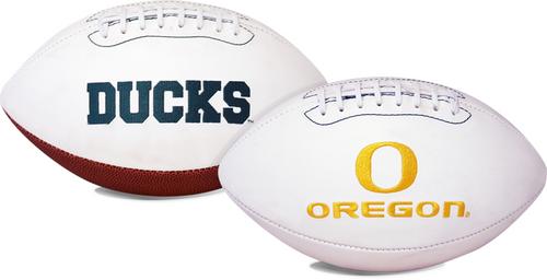 Signature Series NCAA Oregon Ducks Autograph Full Size Football