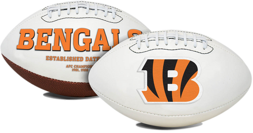 Signature Series NFL Cincinnati Bengals Autograph Full Size Football