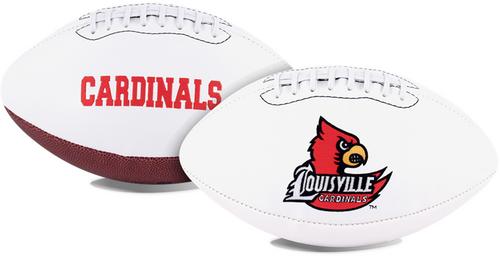 Signature Series NCAA Louisville Cardinals Autograph Full Size Football