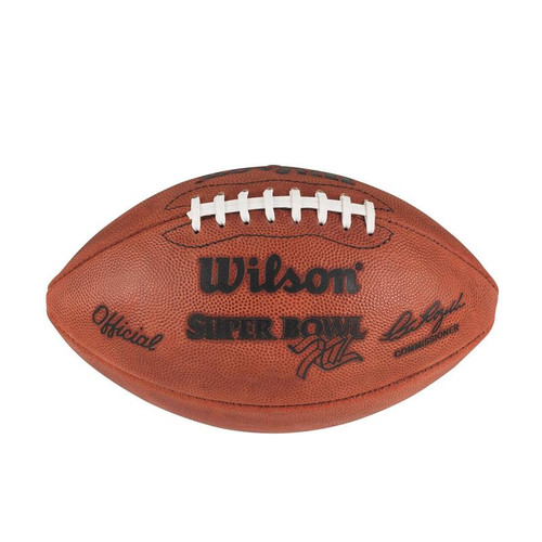 Super Bowl XII (Twelve 12) Dallas Cowboys vs. Denver Broncos Official Leather Authentic Game Football by Wilson
