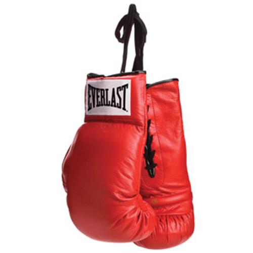 Everlast Autograph Vinyl Boxing Gloves - Lace