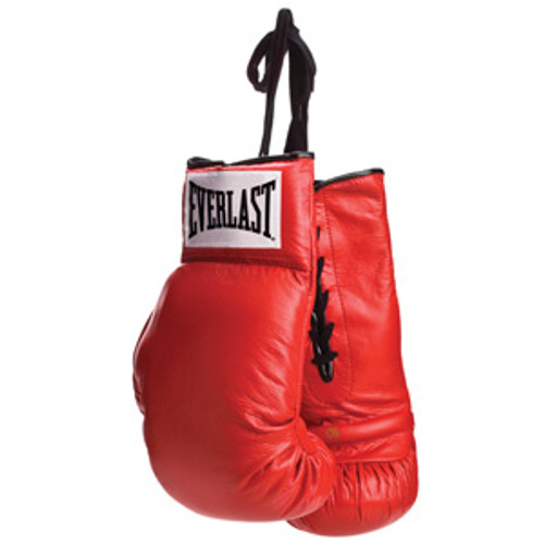 Everlast Autograph Leather Boxing Gloves - Lace