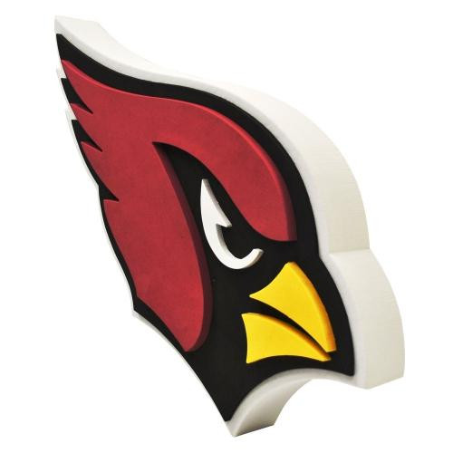 Arizona Cardinals 3D Fan Foam Logo Sign