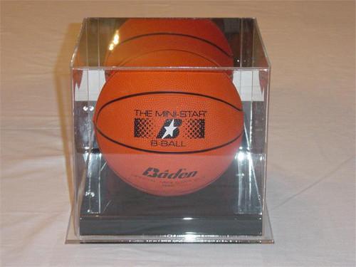 MEDIUM MINI BASKETBALL DISPLAY CASE