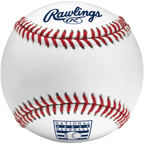 MLB Hall of Fame Rawlings Official Baseball