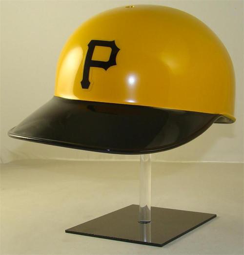 Pittsburgh Pirates Yellow Rawlings Throwback Full Size Baseball Batting Helmet