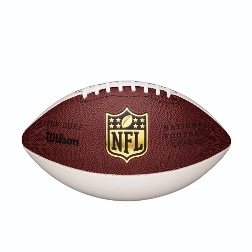 Wilson Official 3 White Panel Autograph NFL Football