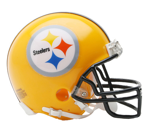 Pittsburgh Steelers 1962 Special 75th Anniversay Riddell Mini Helmet