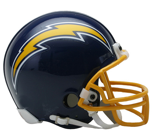 San Diego Chargers 1974-87 Riddell Mini Helmet