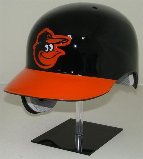 Baltimore Orioles Black/Orange Rawlings Classic REC Full Size Baseball Batting Helmet