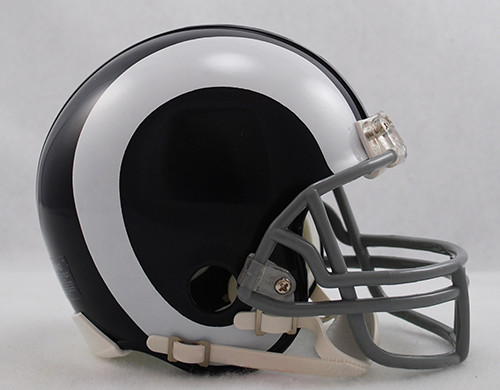 Los Angeles Rams 1965-72 Riddell Mini Helmet