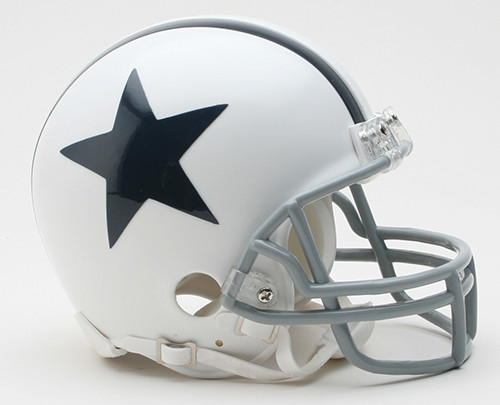Dallas Cowboys 2004-present White Riddell Mini Helmet