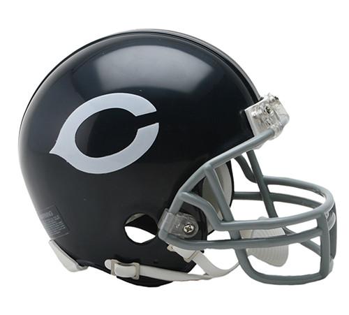 Chicago Bears 1962-73 Riddell Mini Helmet with Z2B Facemask