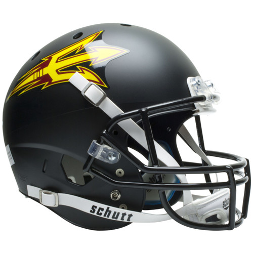 Arizona State Sun Devils (New 2011) Black Schutt Full Size Replica XP Football Helmet