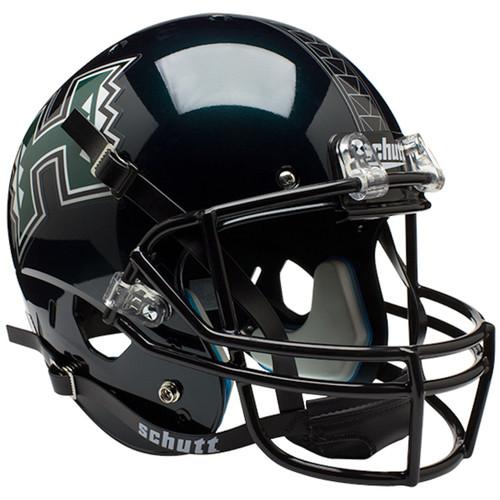 Hawaii Warriors Schutt Full Size Replica XP Football Helmet