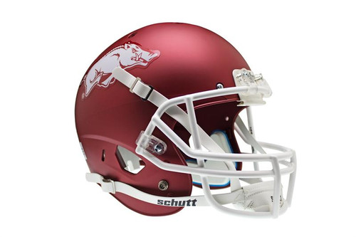 Arkansas Razorbacks Schutt Full Size Replica XP Football Helmet