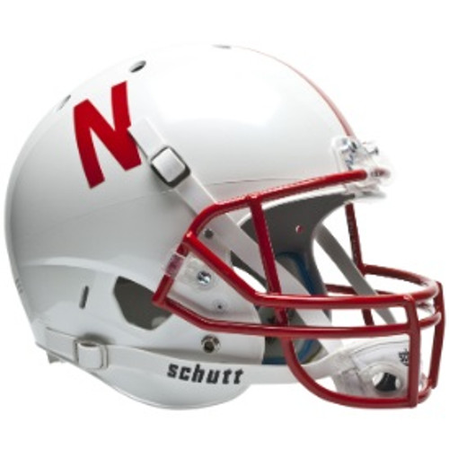 Nebraska Cornhuskers Schutt Full Size Replica XP Football Helmet