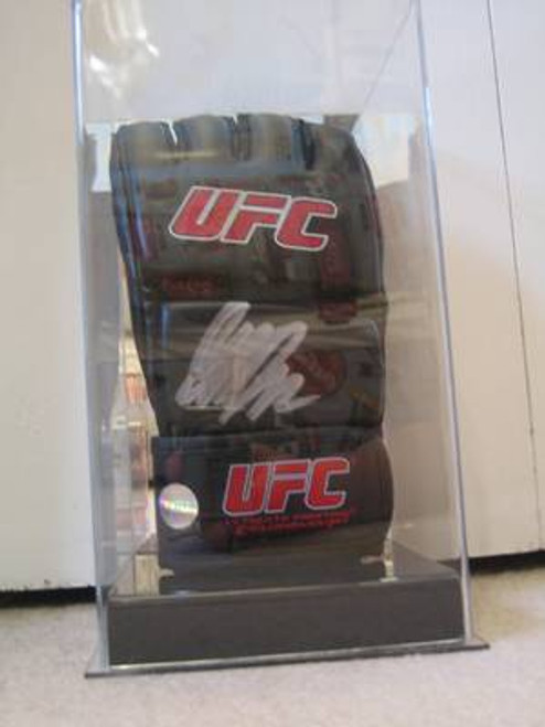 Single UFC / MMA Fight Glove Display Case with Mirror