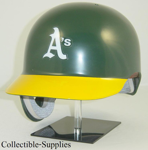 Oakland A's Rawlings Classic REC Full Size Baseball Batting Helmet