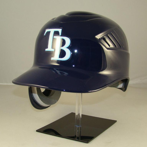 Tampa Bay Rays Rawlings Coolflo REC Full Size Baseball Batting Helmet