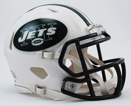 New York Jets 1998-2018 Revolution SPEED Mini Football Helmet