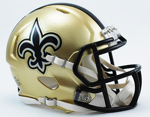 New Orleans Saints Revolution SPEED Mini Helmet