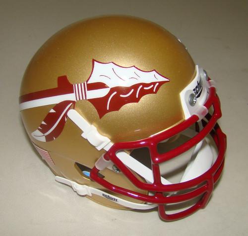 Florida State Seminoles (FSU) Schutt Mini Authentic Football Helmet