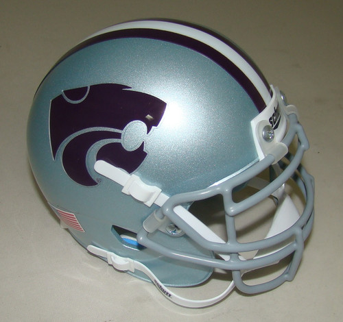 Kansas State Wildcats Schutt Mini Authentic Football Helmet