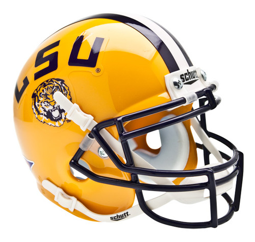 LSU Tigers Schutt Mini Authentic Football Helmet