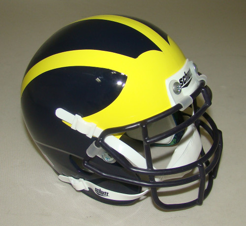 Michigan Wolverines Schutt Mini Authentic Football Helmet