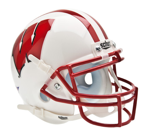 Wisconsin Badgers Schutt Mini Authentic Football Helmet