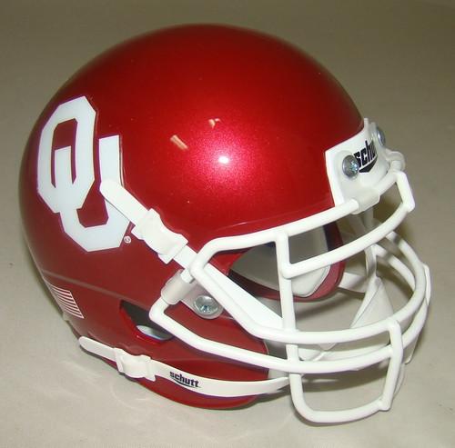 Oklahoma Sooners Schutt Mini Authentic Football Helmet