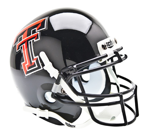 Texas Tech Red Raiders Schutt Mini Authentic Football Helmet