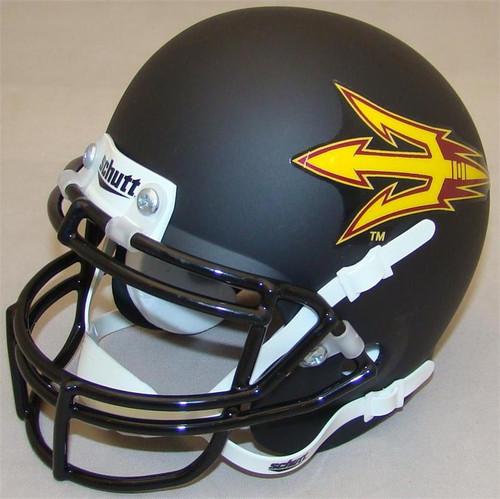 Arizona State Sun Devils Black Schutt Mini Authentic Helmet