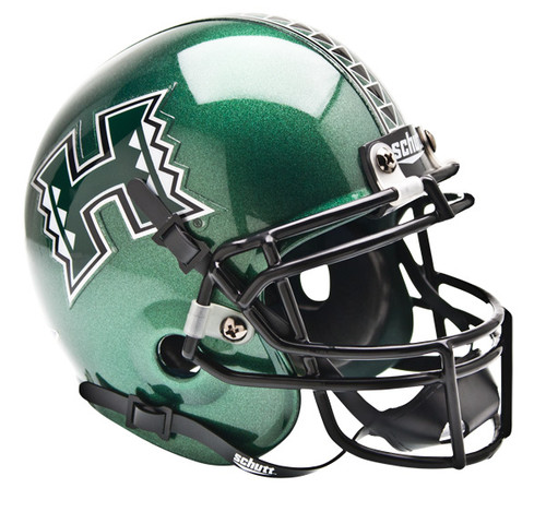 Hawaii Rainbow Warriors Schutt Mini Authentic Football Helmet