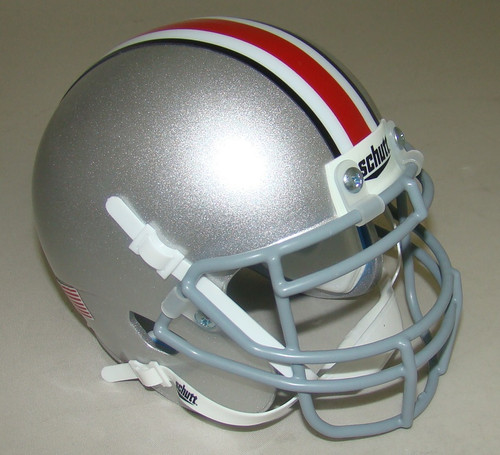 Ohio State Buckeyes Schutt Mini Authentic Football Helmet
