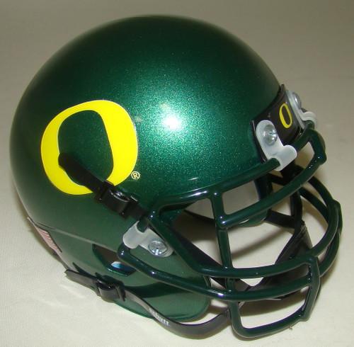 Oregon Ducks Schutt Mini Authentic Football Helmet - Green